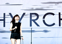 CHVRCHES photos by Robert Redfield